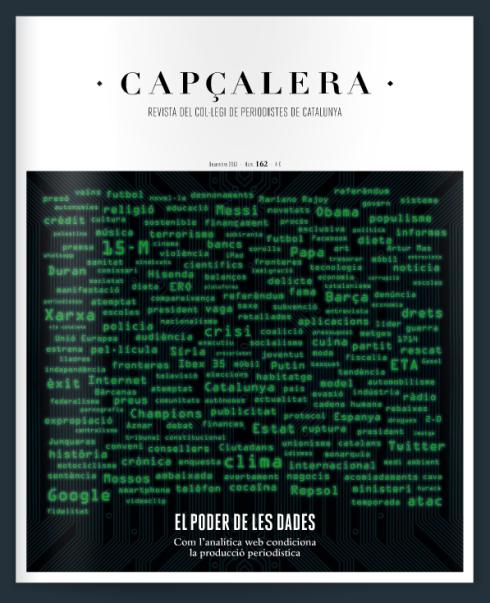 """Portada del número 162 de la revista """"Capçalera""""."""